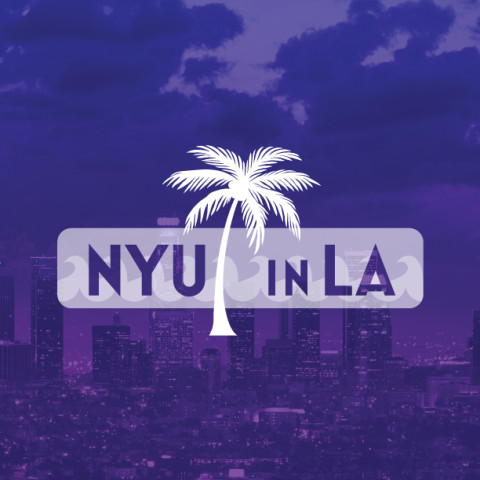 Logo and Sign design for NYU in LA