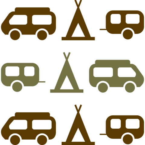 Icon Design for a Campsite