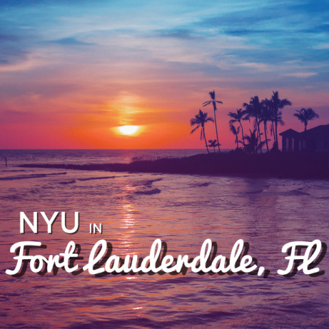 Fort Lauderdale Postcard Design